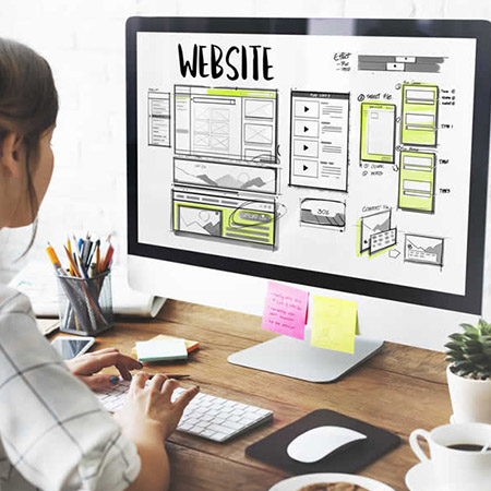 Desenvolvimento website wordpress
